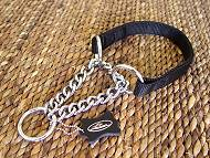 Nylon Martingale Dog Collar Herm Sprenger for German Shepherd
