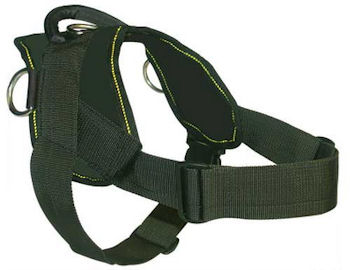 gsd nylon dog harness